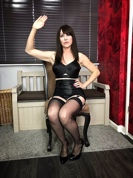 Miss Jessica hand spanking mistress sessions