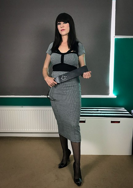 Miss Jessica Wood strap & tawse mistress sessions